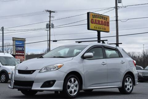 2009 Toyota Matrix for sale at Broadway Garage of Columbia County Inc. in Hudson NY