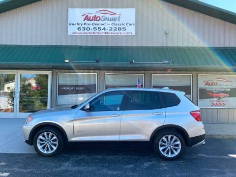 2013 BMW X3 for sale at AutoSmart in Oswego IL