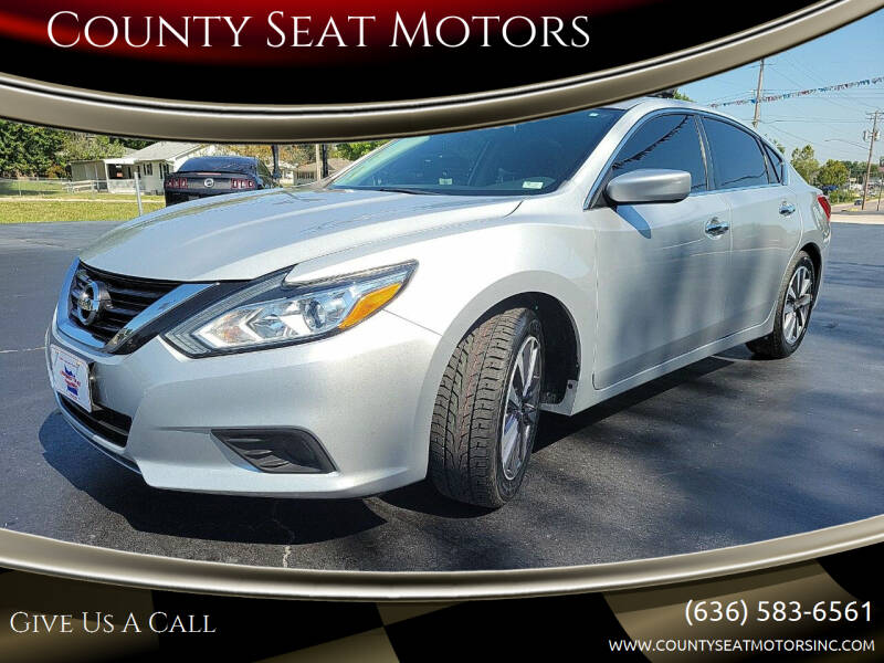 2017 Nissan Altima for sale at County Seat Motors in Union MO