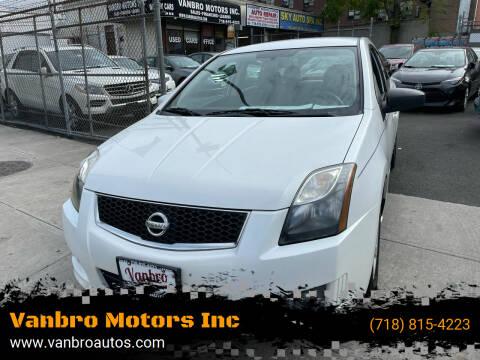 2011 Nissan Sentra for sale at Vanbro Motors Inc in Staten Island NY