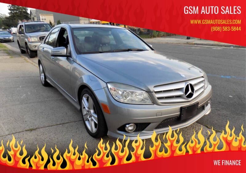 2010 Mercedes-Benz C-Class for sale at GSM Auto Sales in Linden NJ
