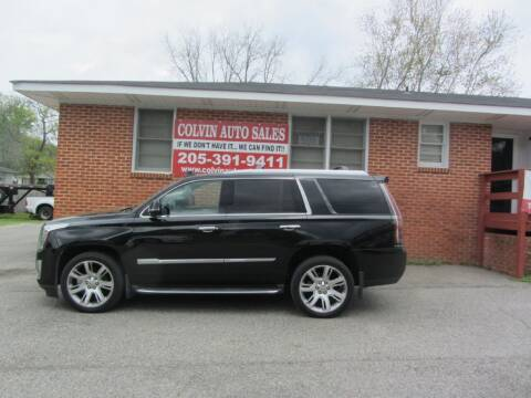 2015 Cadillac Escalade for sale at Colvin Auto Sales in Tuscaloosa AL