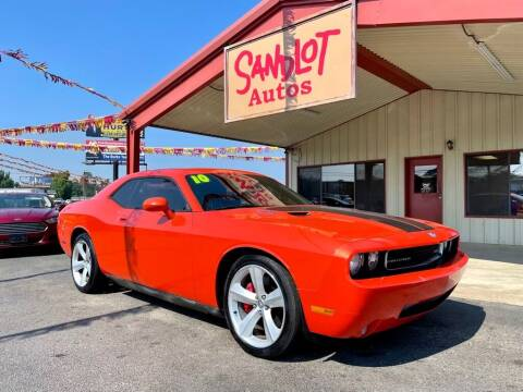 2010 Dodge Challenger for sale at Sandlot Autos in Tyler TX