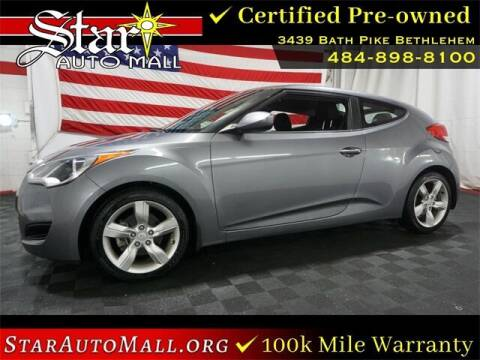 2015 Hyundai Veloster for sale at STAR AUTO MALL 512 in Bethlehem PA