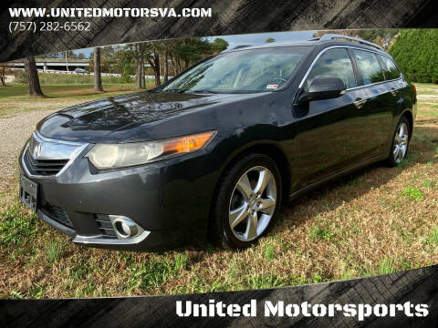 2012 Acura TSX Sport Wagon for sale at United Motorsports in Virginia Beach VA