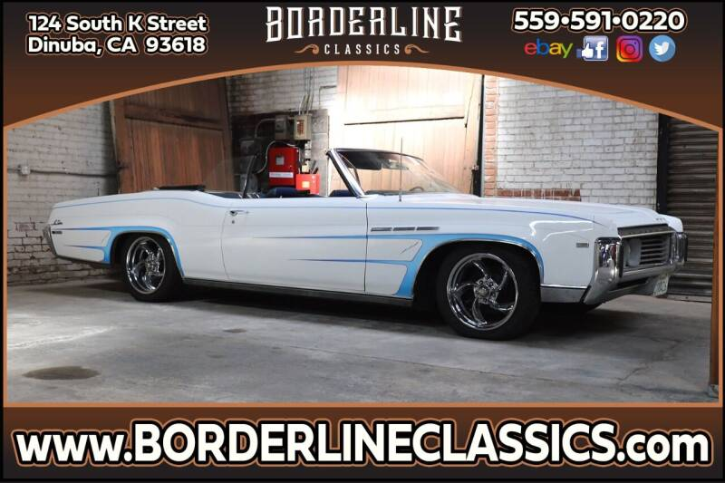 1969 Buick LeSabre for sale at Borderline Classics - Kearney Collection in Dinuba CA