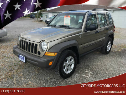 2007 Jeep Liberty for sale at CITYSIDE MOTORCARS LLC in Canfield OH