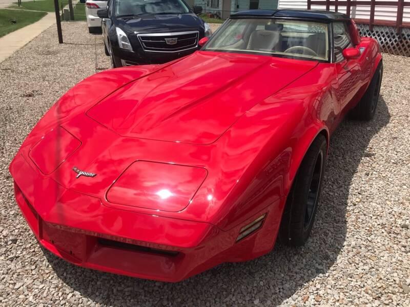 1980 Chevrolet Corvette for sale at Jim Elsberry Auto Sales in Paris IL