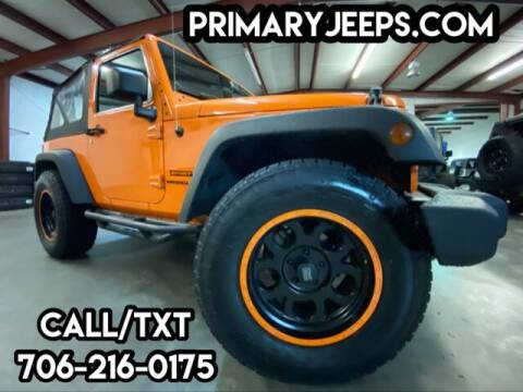 2012 Jeep Wrangler for sale at Primary Auto Group in Dawsonville GA