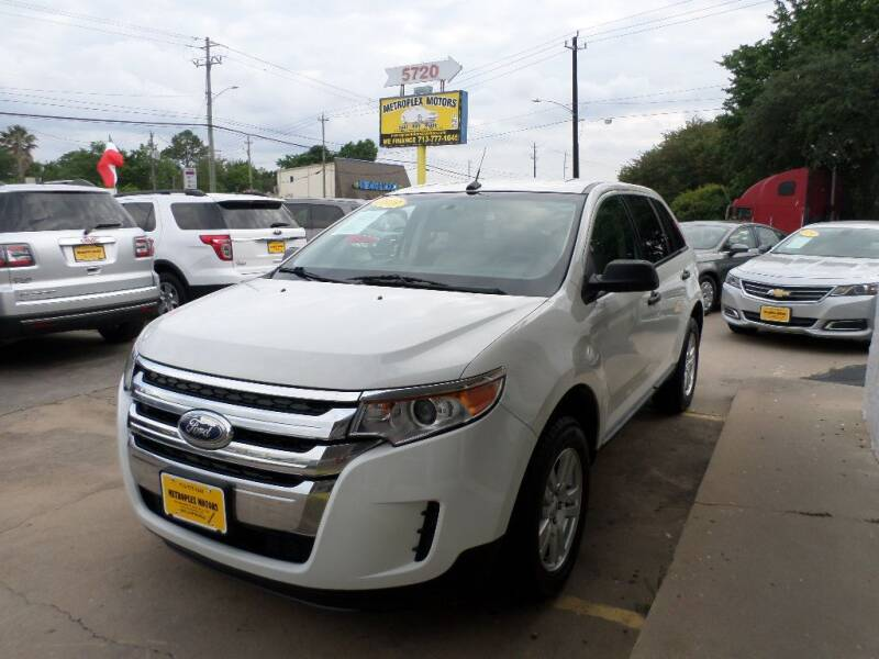 2013 Ford Edge for sale at Metroplex Motors Inc. in Houston TX