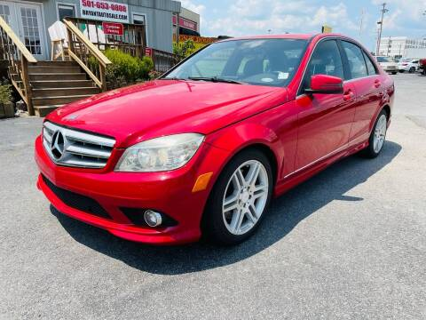 2010 Mercedes-Benz C-Class for sale at BRYANT AUTO SALES in Bryant AR