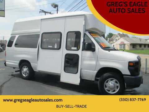 2014 Ford E-Series Cargo for sale at GREG'S EAGLE AUTO SALES in Massillon OH