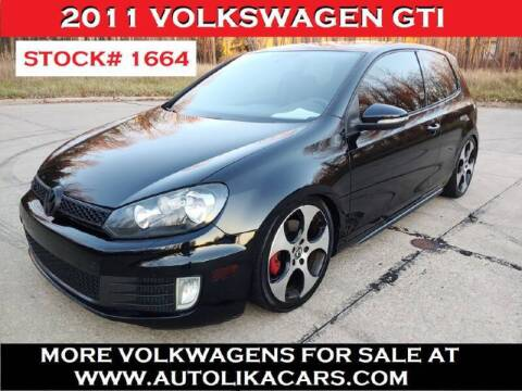 2011 Volkswagen GTI for sale at Autolika Cars LLC in North Royalton OH
