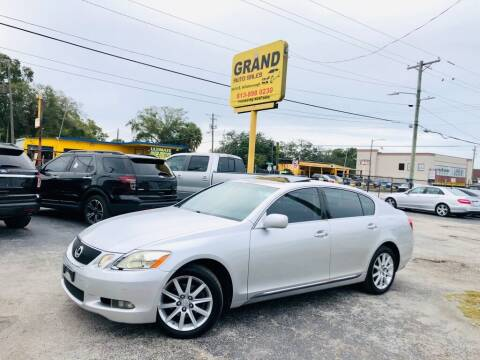 2006 Lexus GS 300 for sale at Grand Auto Sales in Tampa FL