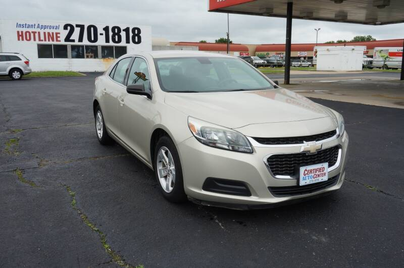 2015 Chevrolet Malibu LS Fleet 4dr Sedan - Tulsa OK