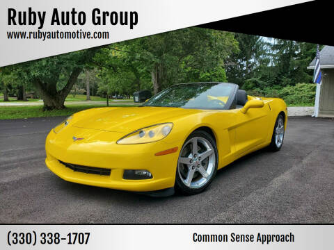2005 Chevrolet Corvette for sale at Ruby Auto Group in Hudson OH