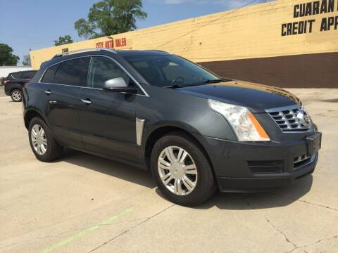 2013 Cadillac SRX for sale at City Auto Sales in Roseville MI
