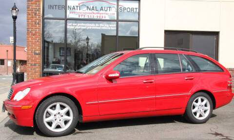 2004 Mercedes-Benz C-Class for sale at INTERNATIONAL AUTOSPORT INC in Pompton Lakes NJ
