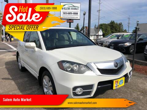 2010 Acura RDX for sale at Salem Auto Market in Salem OR