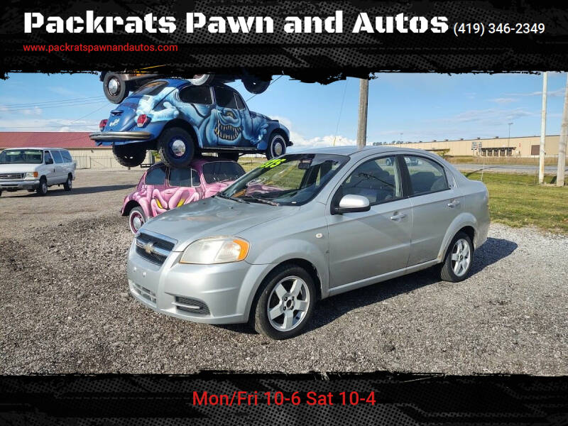 2007 Chevrolet Aveo for sale at Packrats Pawn and Autos in Defiance OH