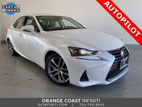2019 Lexus IS 300 for sale at ORANGE COAST CARS in Westminster CA