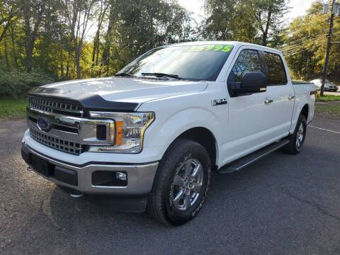 2018 Ford F-150 for sale at CENTRAL AUTO GROUP in Raritan NJ