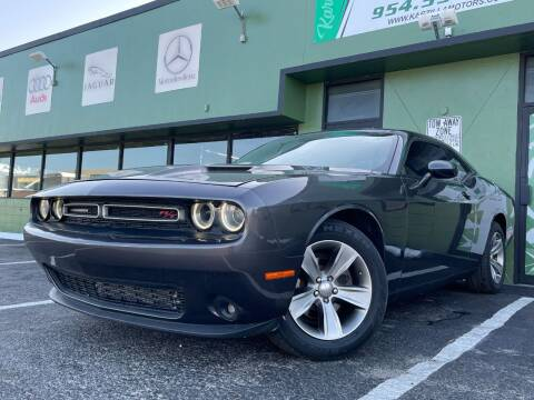 2017 Dodge Challenger for sale at KARZILLA MOTORS in Oakland Park FL