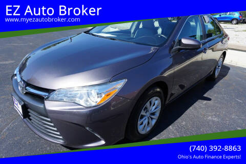 2015 Toyota Camry for sale at EZ Auto Broker in Mount Vernon OH