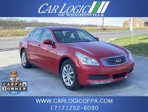 2009 Infiniti G37 Sedan for sale at Car Logic in Wrightsville PA
