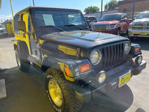 2002 Jeep Wrangler for sale at New Wave Auto Brokers & Sales in Denver CO