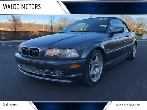 2002 BMW 3 Series for sale at WALDO MOTORS in Kansas City MO