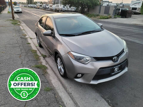 2014 Toyota Corolla for sale at High Line Auto Sales in Salt Lake City UT