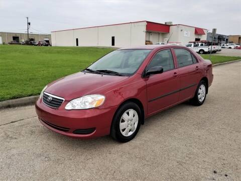 2006 Toyota Corolla for sale at Image Auto Sales in Dallas TX