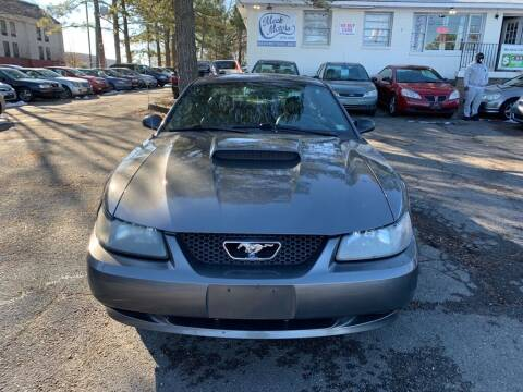 2003 Ford Mustang for sale at MEEK MOTORS in North Chesterfield VA