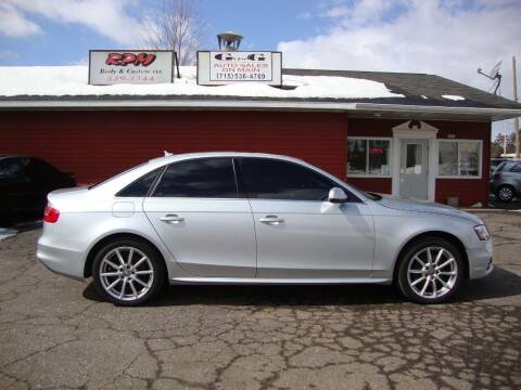 2014 Audi A4 for sale at G and G AUTO SALES in Merrill WI