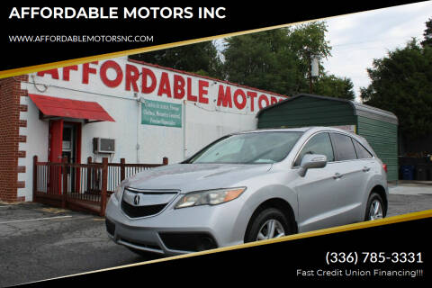 2013 Acura RDX for sale at AFFORDABLE MOTORS INC in Winston Salem NC