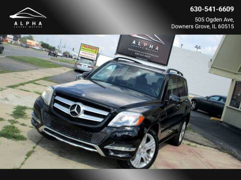2013 Mercedes-Benz GLK for sale at Alpha Luxury Motors in Downers Grove IL