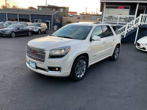 2014 GMC Acadia for sale at First Union Auto in Seattle WA