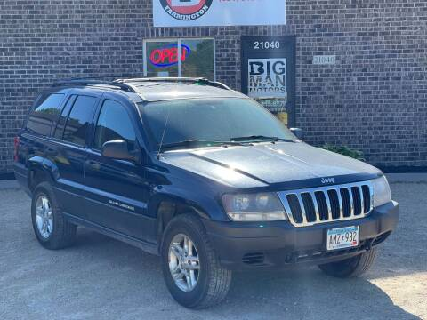 2003 Jeep Grand Cherokee for sale at Big Man Motors in Farmington MN
