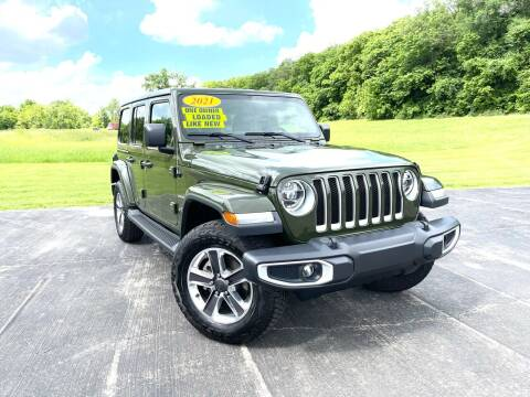 2021 Jeep Wrangler Unlimited for sale at A & S Auto and Truck Sales in Platte City MO