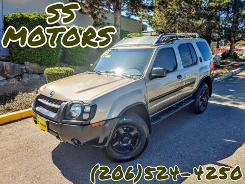 2003 Nissan Xterra for sale at SS MOTORS LLC in Edmonds WA