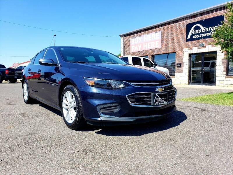 2016 Chevrolet Malibu for sale at AUTO BARGAIN, INC. #2 in Oklahoma City OK