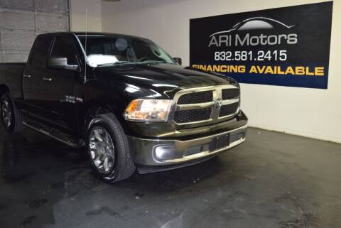 2014 RAM Ram Pickup 1500 for sale at ARI Motors in Houston TX