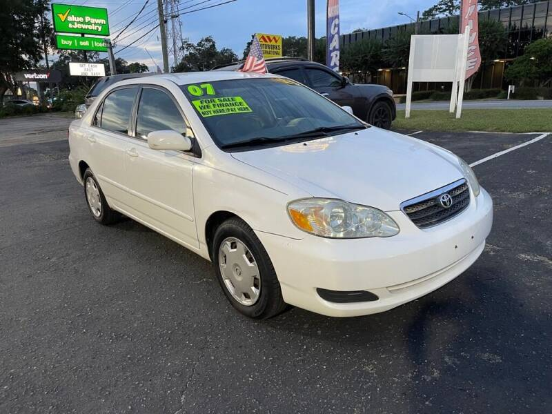 2007 Toyota Corolla for sale at The Strong St. Moses Auto Sales LLC in Tallahassee FL