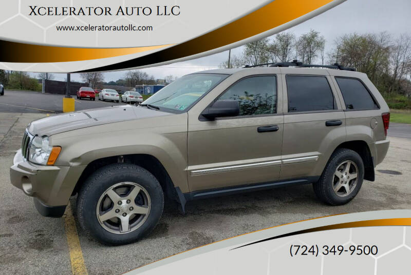 2005 Jeep Grand Cherokee for sale at Xcelerator Auto LLC in Indiana PA