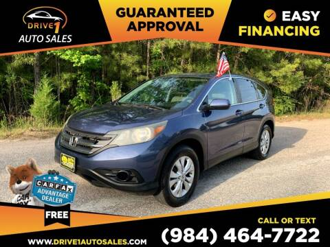 2013 Honda CR-V for sale at Drive 1 Auto Sales in Wake Forest NC