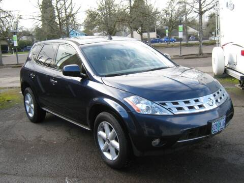 2005 Nissan Murano for sale at D & M Auto Sales in Corvallis OR