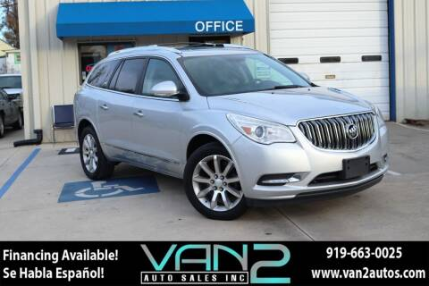 2013 Buick Enclave for sale at Van 2 Auto Sales Inc in Siler City NC