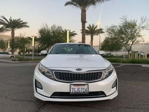 2014 Kia Optima Hybrid for sale at Car Hero LLC in Santa Clara CA