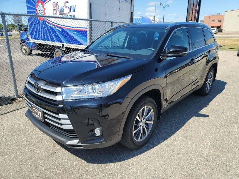 2019 Toyota Highlander for sale at CFN Auto Sales in West Fargo ND